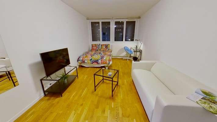 Chambre studio de 20m² entièrement meublée